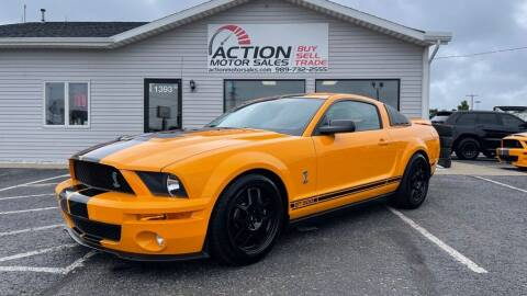 2008 Ford Shelby GT500 for sale at Action Motor Sales in Gaylord MI