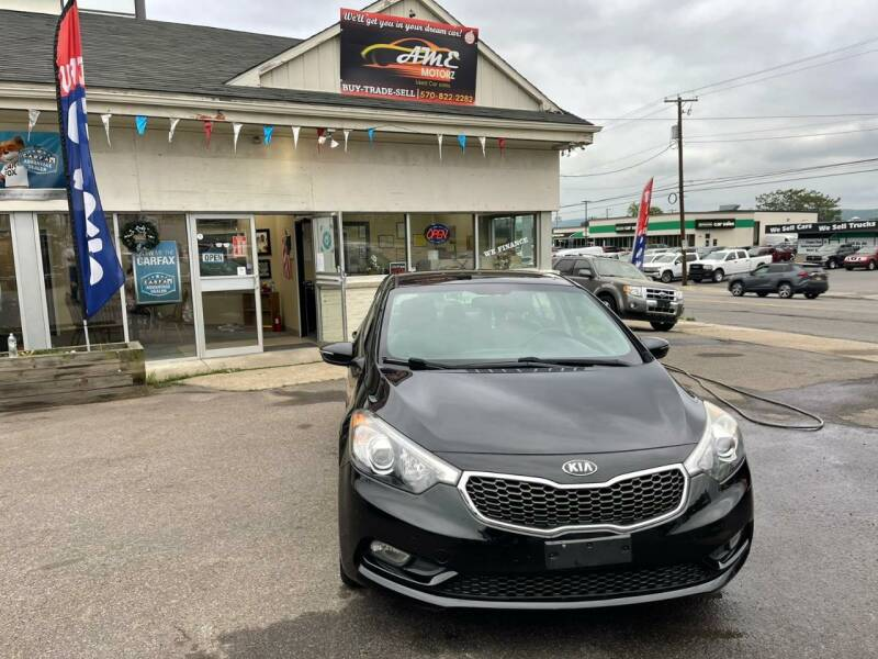 2014 Kia Forte for sale at AME Motorz in Wilkes Barre PA