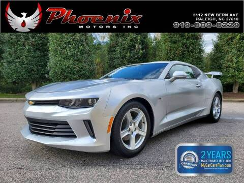 2017 Chevrolet Camaro for sale at Phoenix Motors Inc in Raleigh NC