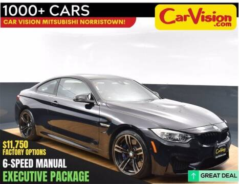 2016 BMW M4 for sale at Car Vision Buying Center in Norristown PA