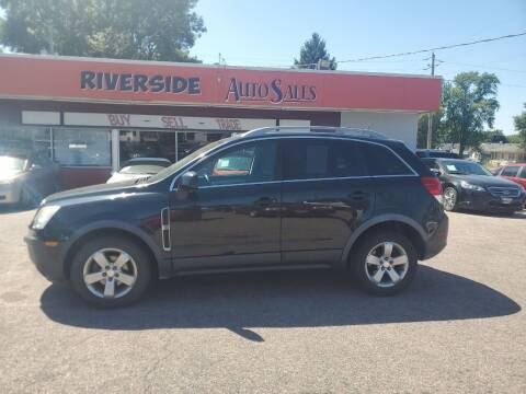 2012 Chevrolet Captiva Sport for sale at RIVERSIDE AUTO SALES in Sioux City IA