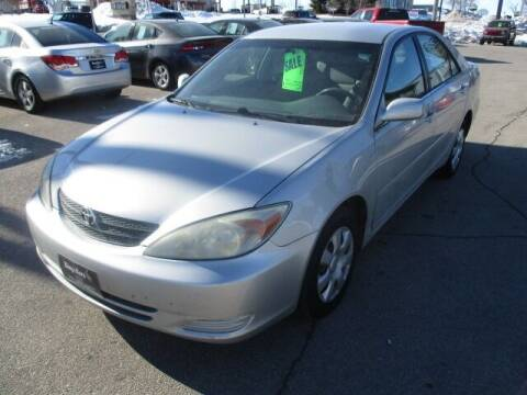 2003 Toyota Camry for sale at King's Kars in Marion IA