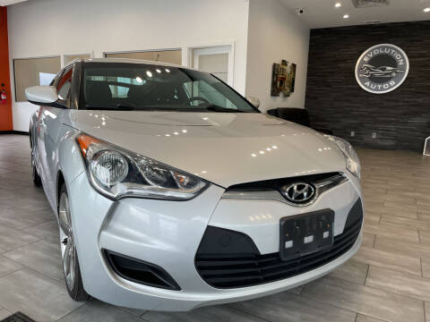 2013 Hyundai Veloster for sale at Evolution Autos in Whiteland IN