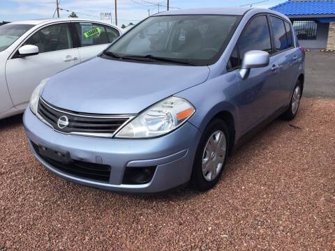 2010 Nissan Versa for sale at SPEND-LESS AUTO in Kingman AZ