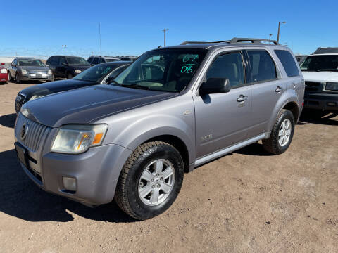 2008 Mercury Mariner for sale at PYRAMID MOTORS - Fountain Lot in Fountain CO
