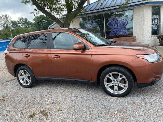 2014 Mitsubishi Outlander for sale at Wallers Auto Sales LLC in Dover OH