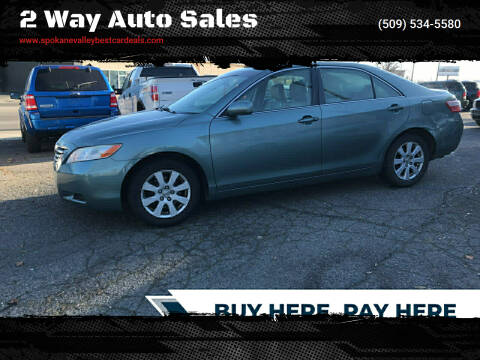 2008 Toyota Camry for sale at 2 Way Auto Sales in Spokane Valley WA
