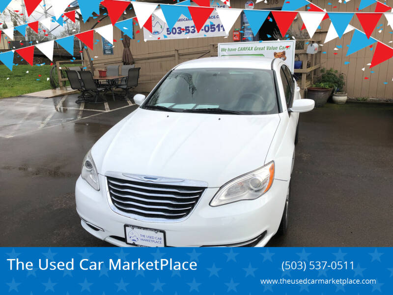 2014 Chrysler 200 for sale at The Used Car MarketPlace in Newberg OR