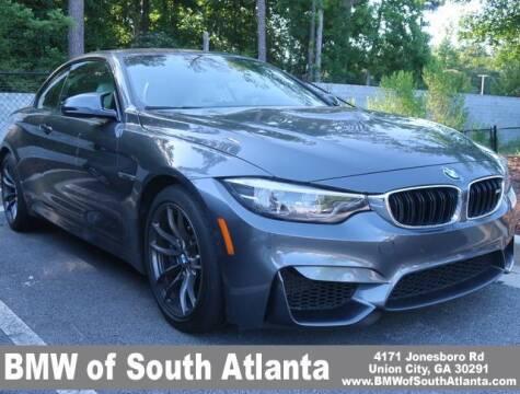 2018 BMW M4 for sale at Carol Benner @ BMW of South Atlanta in Union City GA