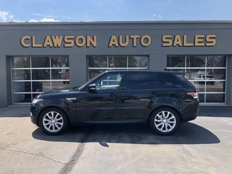 2016 Land Rover Range Rover Sport for sale at Clawson Auto Sales in Clawson MI