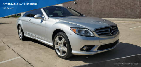 2008 Mercedes-Benz CL-Class for sale at AFFORDABLE AUTO BROKERS in Keller TX