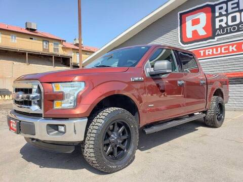 2016 Ford F-150 for sale at Red Rock Auto Sales in Saint George UT