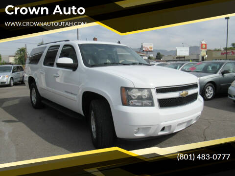 2008 Chevrolet Suburban for sale at Crown Auto in South Salt Lake City UT