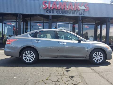 2014 Nissan Altima for sale at Siamak's Car Company llc in Salem OR