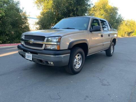2004 Chevrolet Avalanche for sale at Eco Auto Deals in Sacramento CA