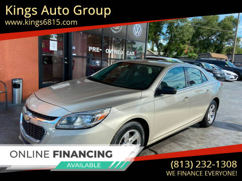 2015 Chevrolet Malibu for sale at Kings Auto Group in Tampa FL