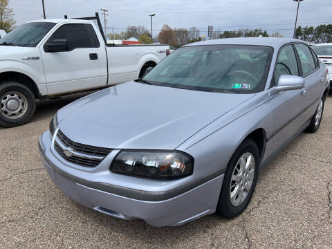 2005 Chevrolet Impala for sale at Blake Hollenbeck Auto Sales in Greenville MI