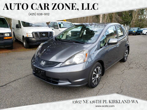 2013 Honda Fit for sale at Auto Car Zone, LLC in Kirkland WA