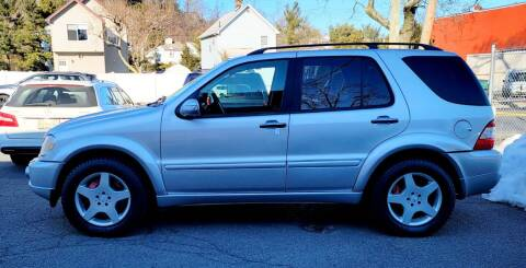 2002 Mercedes-Benz M-Class for sale at Rolfs Auto Sales in Summit NJ