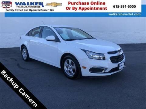2016 Chevrolet Cruze Limited for sale at WALKER CHEVROLET in Franklin TN