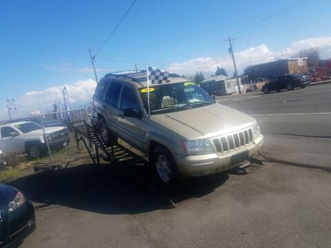 1999 Jeep Grand Cherokee for sale at Bonney Lake Used Cars in Puyallup WA