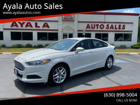 2013 Ford Fusion for sale at Ayala Auto Sales in Aurora IL