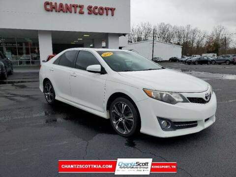 2012 Toyota Camry for sale at Chantz Scott Kia in Kingsport TN