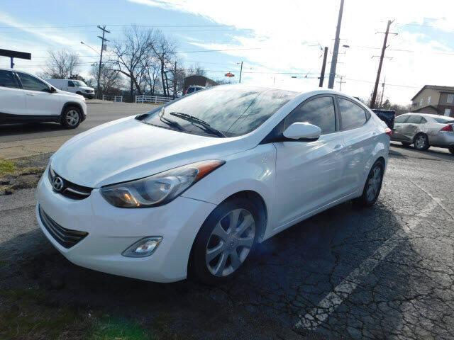 2012 Hyundai Elantra for sale at WOOD MOTOR COMPANY in Madison TN