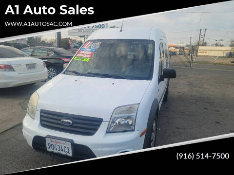 2011 Ford Transit Connect for sale at A1 Auto Sales in Sacramento CA