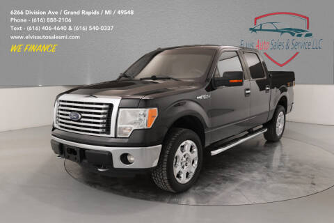 2012 Ford F-150 for sale at Elvis Auto Sales LLC in Grand Rapids MI