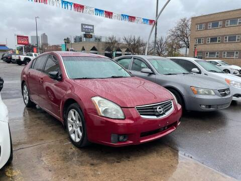 2008 Nissan Maxima for sale at Capitol Hill Auto Sales LLC in Denver CO