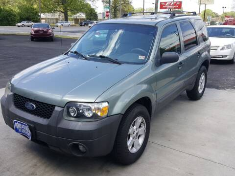 2007 Ford Escape for sale at Premier Auto Sales Inc. in Newport News VA