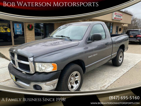 2002 Dodge Ram Pickup 1500 for sale at Bob Waterson Motorsports in South Elgin IL