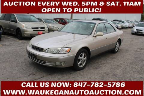 1998 Lexus ES 300 for sale at Waukegan Auto Auction in Waukegan IL
