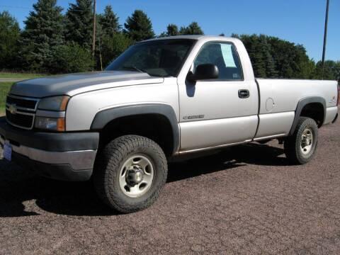 2006 Chevrolet Silverado 2500HD for sale at Rapp Motors in Marion SD