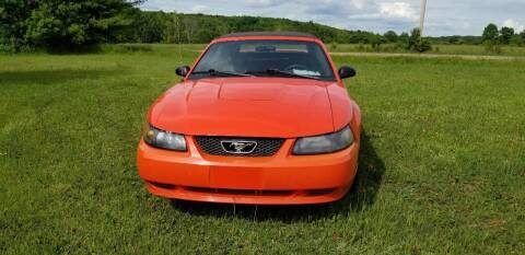 2004 Ford Mustang for sale at SKYLINE AUTO CENTRE in Wisconsin Rapids WI