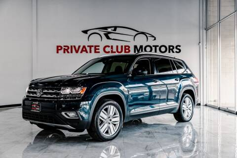 2018 Volkswagen Atlas for sale at Private Club Motors in Houston TX