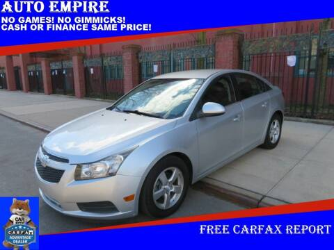 2013 Chevrolet Cruze for sale at Auto Empire in Brooklyn NY