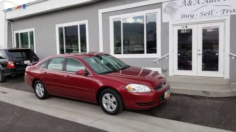 2008 Chevrolet Impala for sale at A&A Auto Sales in Orem UT