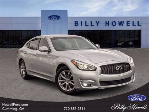 2015 Infiniti Q70 for sale at BILLY HOWELL FORD LINCOLN in Cumming GA