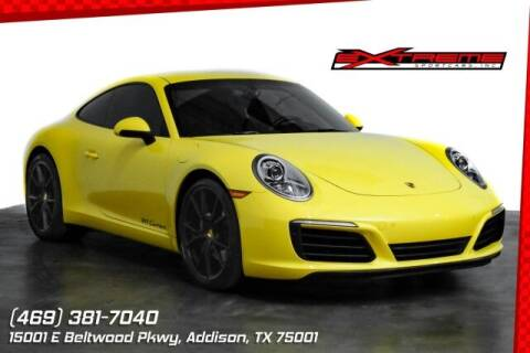 2017 Porsche 911 for sale at EXTREME SPORTCARS INC in Carrollton TX
