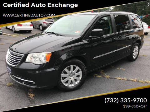 2013 Chrysler Town and Country for sale at Certified Auto Exchange in Keyport NJ
