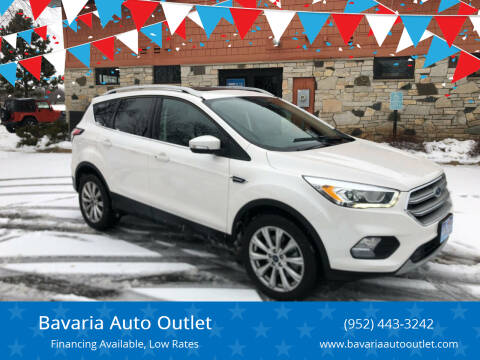 2017 Ford Escape for sale at Bavaria Auto Outlet in Victoria MN