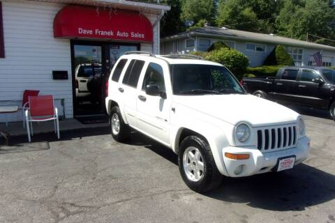 2003 Jeep Liberty for sale at Dave Franek Automotive in Wantage NJ