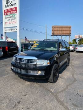 2008 Lincoln Navigator for sale at US 24 Auto Group in Redford MI