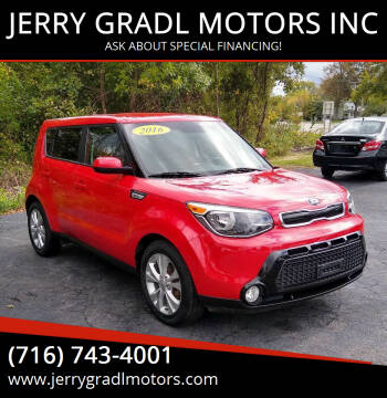 2016 Kia Soul for sale at JERRY GRADL MOTORS INC in North Tonawanda NY