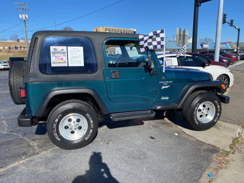 1998 Jeep Wrangler for sale at Brian Jones Motorsports Inc in Danville VA