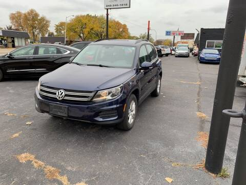 2016 Volkswagen Tiguan for sale at Car Now LLC in Madison Heights MI