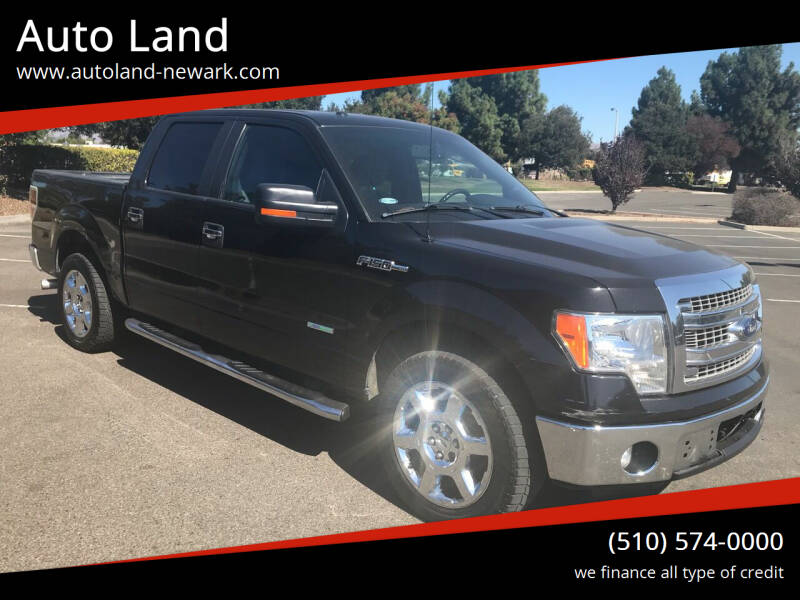 2013 Ford F-150 for sale at Auto Land in Newark CA