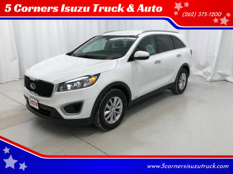 2018 Kia Sorento for sale at 5 Corners Isuzu Truck & Auto in Cedarburg WI